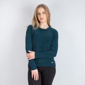 Blusa feminina de malha chenile Sumaré 31263