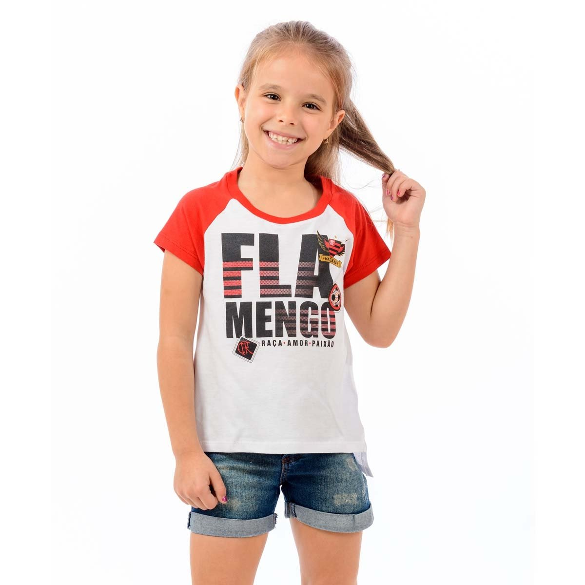 Blusa Flamengo Branco Flamengo Infantil e School Blusa Vermelho Infantil FUqUSwd