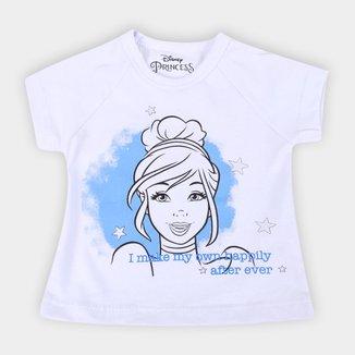 Blusa Infantil Disney Happily Cinderela Feminina