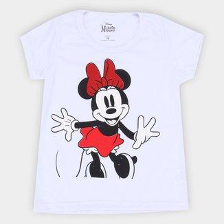 Blusa Infantil Disney Minnie Glow Feminina