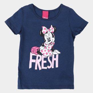Blusa Infantil Disney Minnie Mouse Fresh Feminina