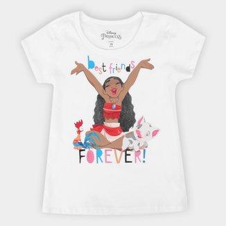 Blusa Infantil Disney Moana Forever Feminina