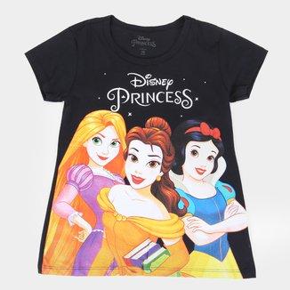 Blusa Infantil Disney Princesas Classic Feminina