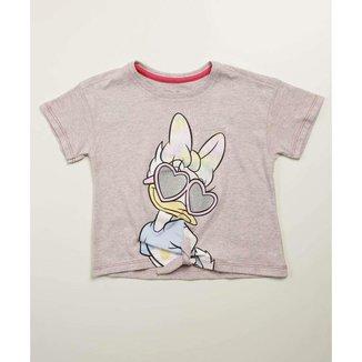 Blusa Infantil Estampa Margarida Disney Tam 4 A 10 - 10046365637