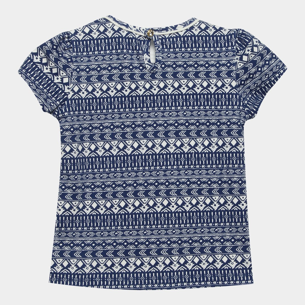 Ripilica Blusa Blusa Estampada Lilica e Feminina Infantil Infantil Branco Marinho Lilica nq7XxHqT
