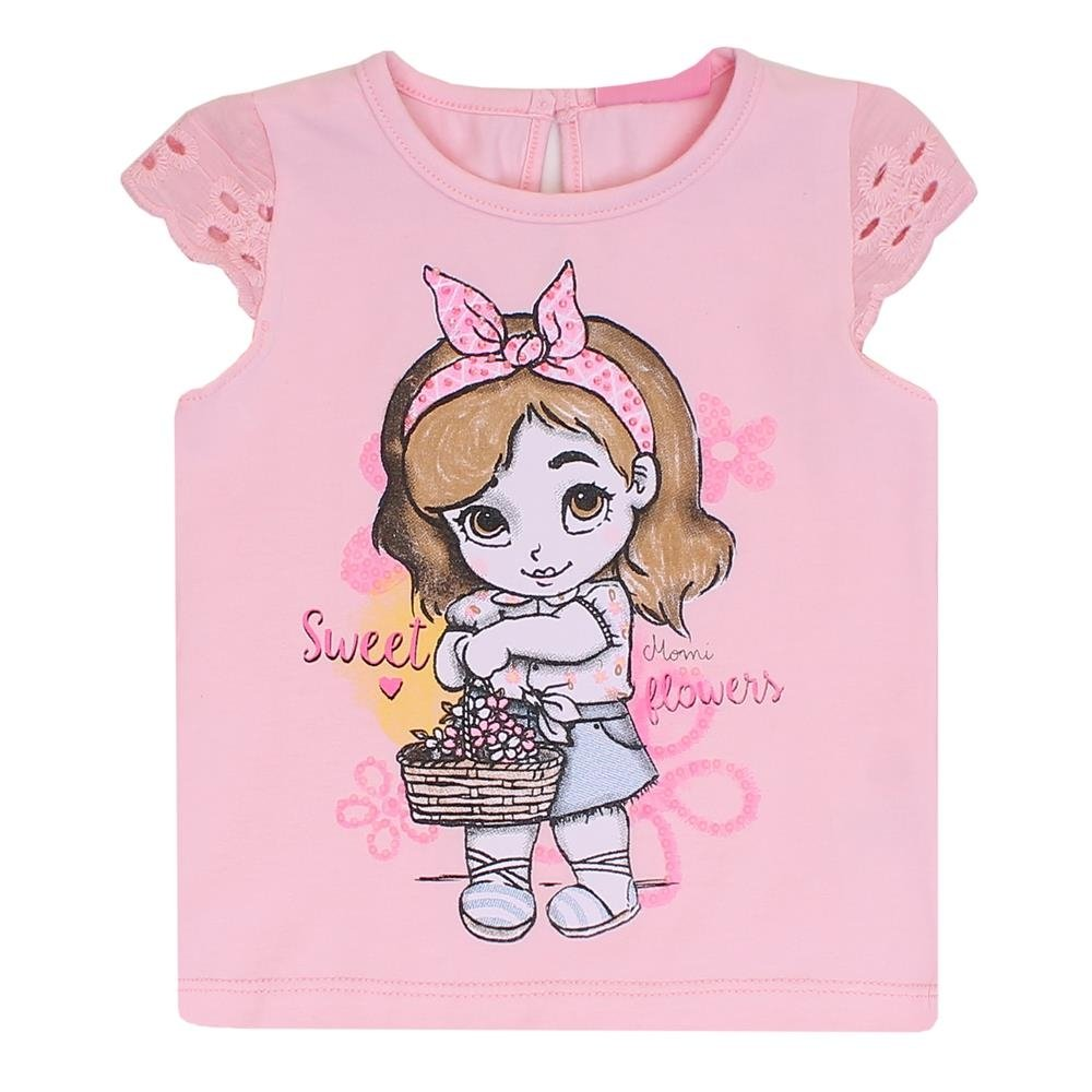 Boneca Blusa Rosa Blusa Infantil Momi Infantil Feminina 1IUq5w