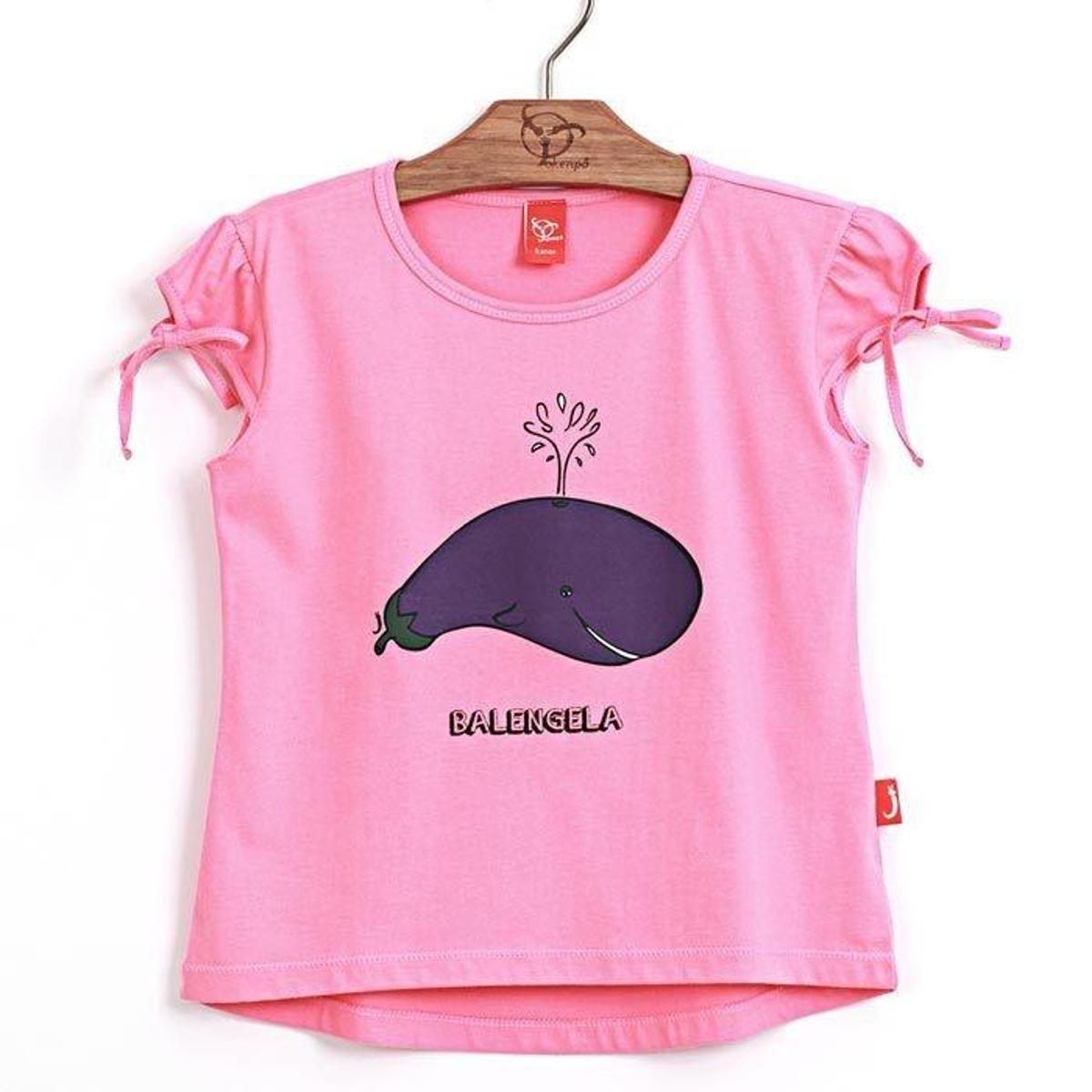 Jokenpô Blusa Blusa Balengela Infantil Jokenpô Infantil Infantil Balengela Pink Jokenpô Pink Blusa rr7Cndwq