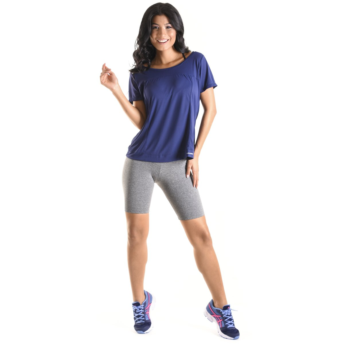 Marinho Force Cross Latina Mama Mama Sport Sport Blusa Cross Blusa Force Latina PRpxw7a
