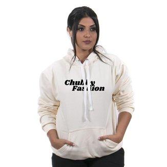Blusa Moletom Canguru Feminino Estampado Com Capuz