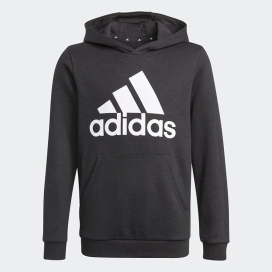 Blusa Moletom Capuz adidas Essentials Adidas - Preto