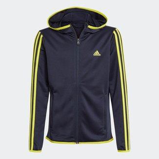 Blusa Moletom Capuz Designed 2 Move 3-Stripes Adidas