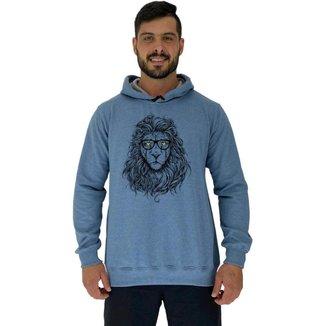 Blusa Moletom Com Touca MXD Conceito Lion Masculina