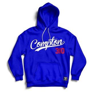 Blusa Moletom Compton 310 Canguru Com Capuz Masculina