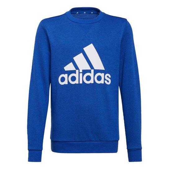Blusa Moletom Essentials Adidas - Azul