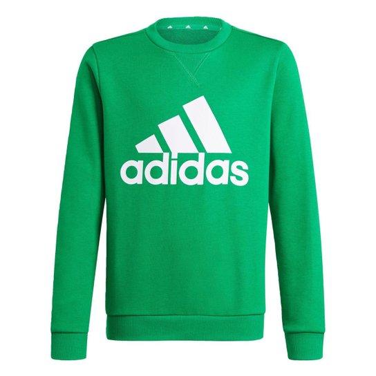 Blusa Moletom Essentials Adidas - Verde
