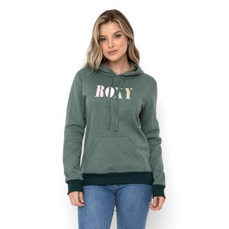 Blusa Moletom Fechado Indian Poem ROXY