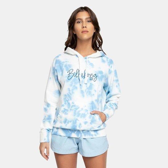 Blusa Moletom Fechado Surf Vibemsp Billabong - Azul