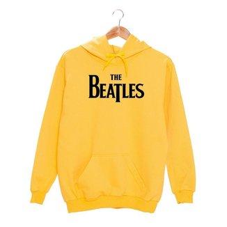 Blusa Moletom Feminino Premium Com Estampa Beatles TSM Varias Cores Com Capuz