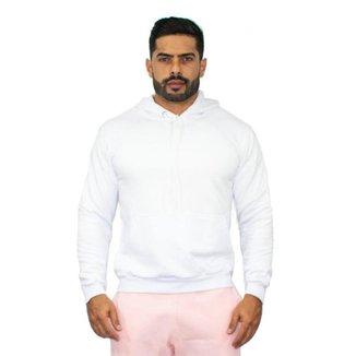 Blusa Moletom Masculino Capuz Canguru Conforto Dia a Dia Frio