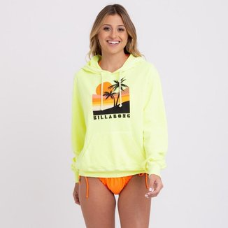 Blusa Moletom Retro Sunset Billabong