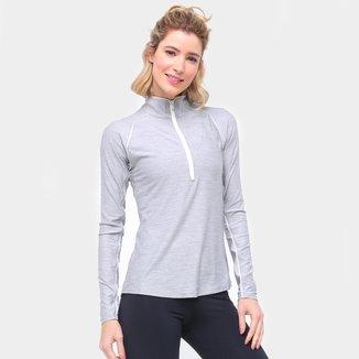 Blusa New Balance Transform Zip Feminina