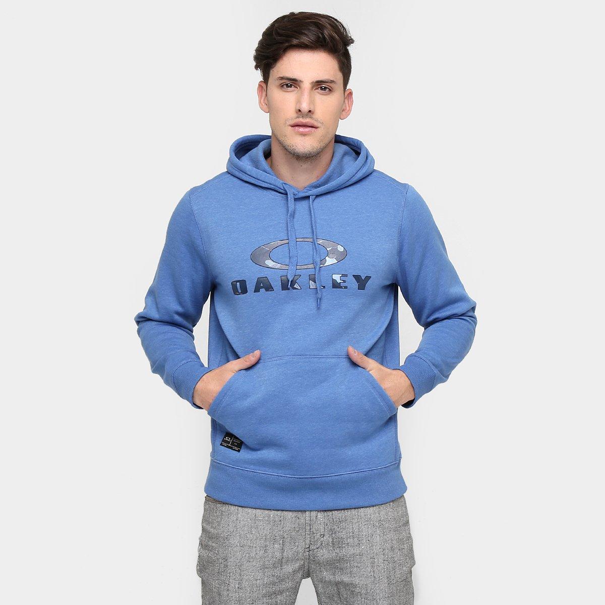 ebdc342619 Blusa Oakley Front Side Pullover Fleece Masculina - Compre Agora ...