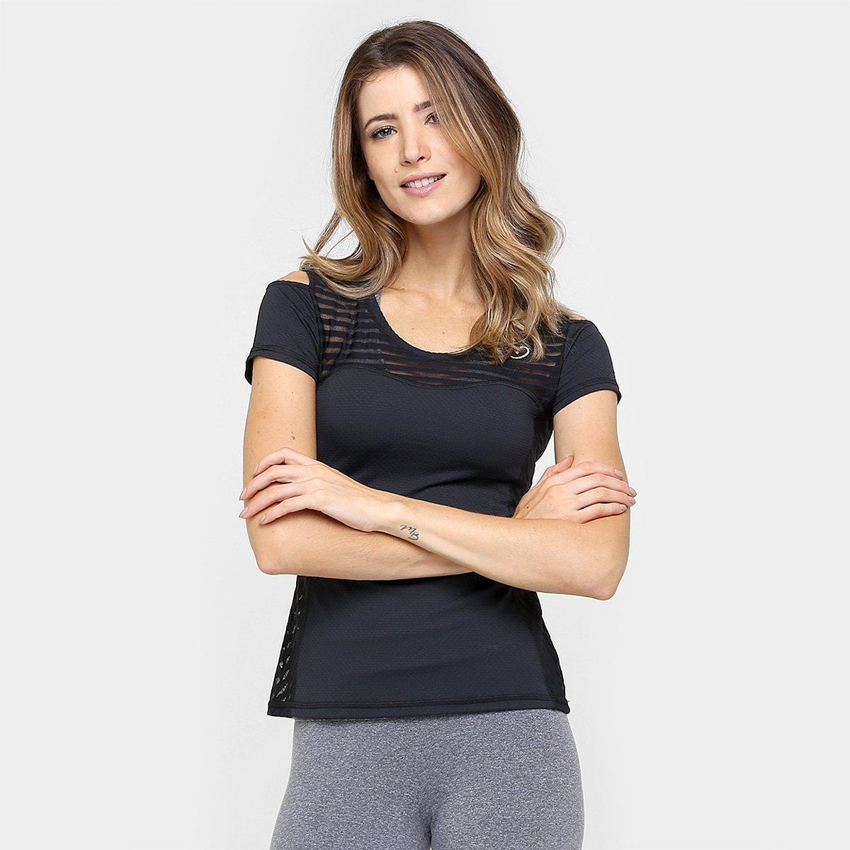 Blusa Obbia Recorte Ombro - Compre Agora  f93de8c307837