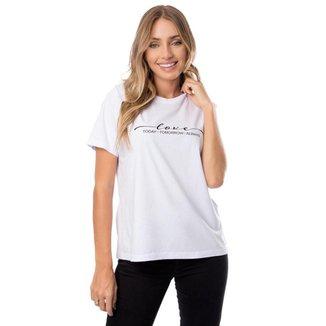Blusa Plus Size Meia Malha Com Estampa