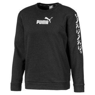 Blusa Puma Amplified Crew Fl Masculina