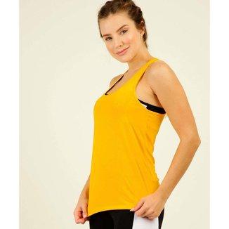 Blusa Regata Feminina Fitness Nadador Marisa - 10046496799