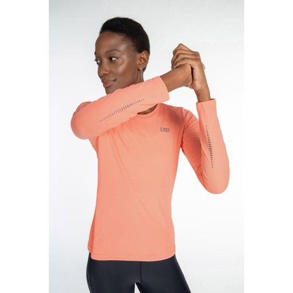 Blusa Running Co² Essential - Coral - M - LIVE!