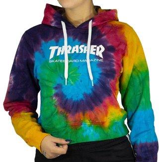 Blusa Thrasher Tie Dye Mag Feminino