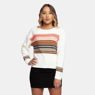 Blusa Tricot Seeing Stripes Billabong