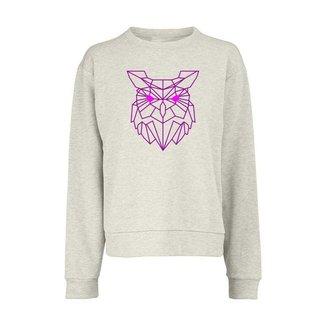 Blusão Feminino em Moletom Owl Km10 Sports