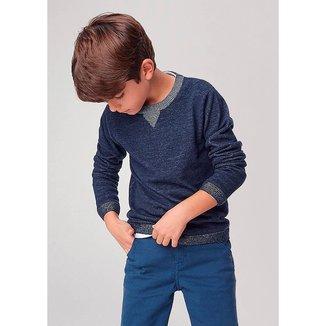 Blusão Infantil Jeans Hering  Tricô Play Masculino