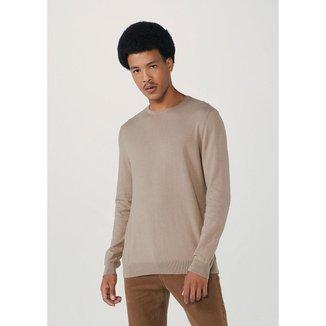 Blusão Masculino Básico Em Tricô De Algodão - K0WGEAISI5