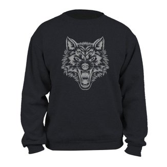 Blusão Masculino em Moletom Wolf Km10 Sports