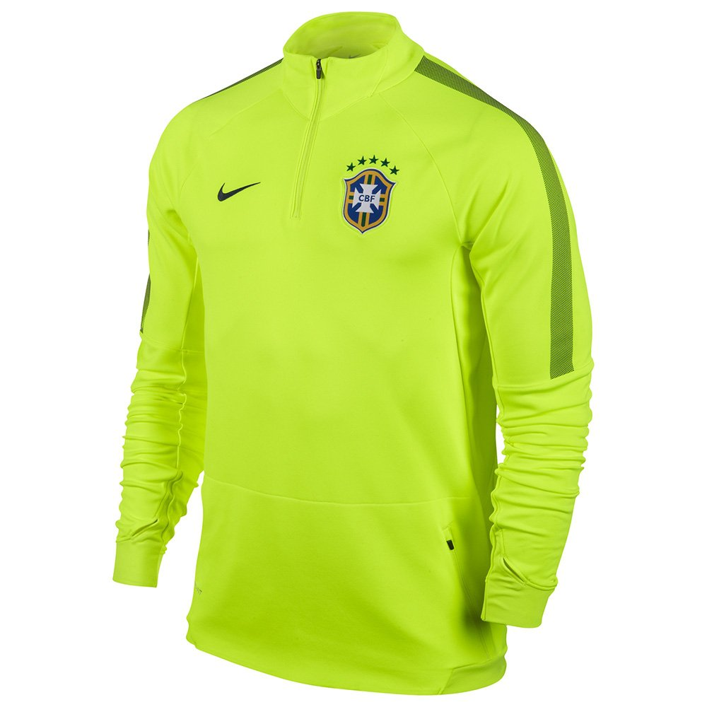 Blusao Nike Cbf Squad Ls Midlayer 575701 | Netshoes