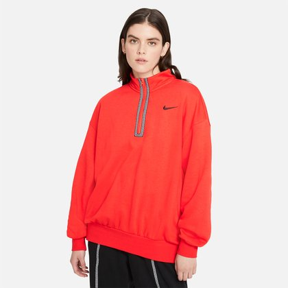 Blusão Nike Nsw Icon Clash Fleece Feminino