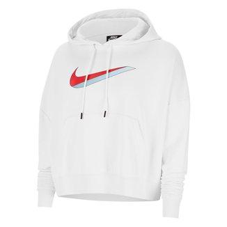Blusão Nike Sportswear Icon CLSH FLC Hoodie FT Feminino