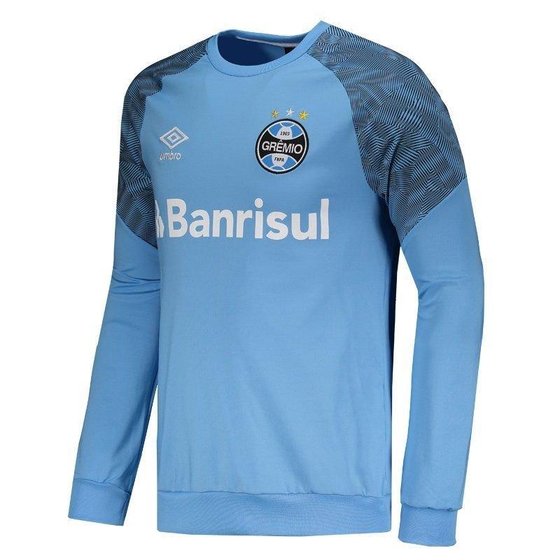 Blusão Umbro Grêmio Treino 2018 Masculino - Azul - Compre Agora ... 5f0cba4624a5e
