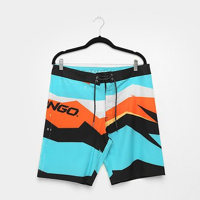 Boardshort Onbongo Sublimado Colors Masculino