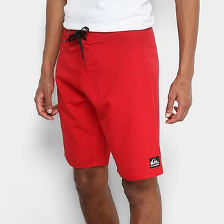 Boardshort Quiksilver Manic Solid Masculino