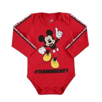 Body Bebê Infantil Mickey Marlan
