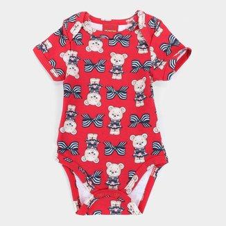 Body Bebê Kyly Cotton Estampado Feminino