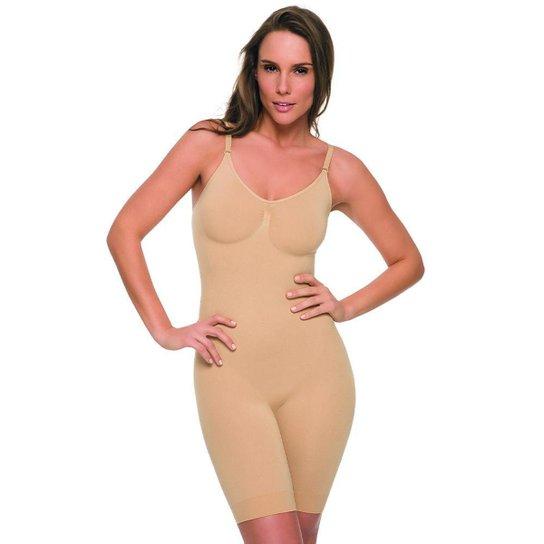 Body Bermuda Hanes Shapewear H190 Nude - P - Nude