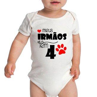 Body Criativa Urbana Bebê Frases Engraçadas Curto Rock com o Padrinho Dindo Titio