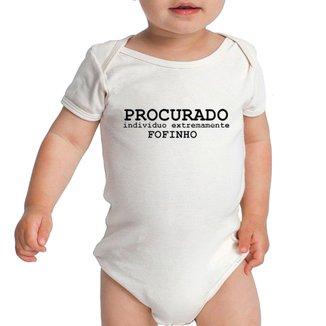 Body Criativa Urbana Bebê Frases Procurado Fofo