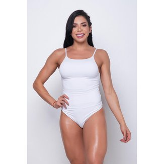 Body Fitness DMFit Decote Costas Feminino