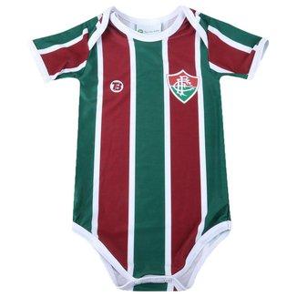 Body Infantil Torcida Baby Fluminense Proteção Solar FPU 50+